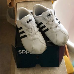 Infant baby adidas shoes
